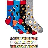 Novelty Gift Box Set of 4 Fun Socks for Men. Shipped from Australia