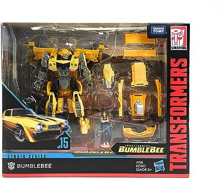 BUMBLEBEE WITH CHARLIE Transformers Studio Series Deluxe Class Rebekah/'s Garage
