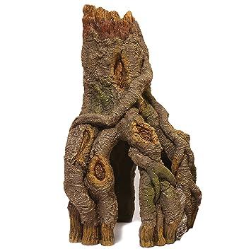 Rosewood esquina tronco y raíces Acuario Decor