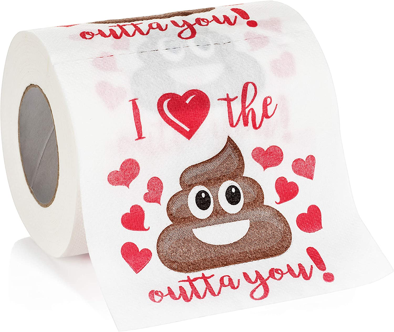 Let It Go Funny Gift Decorative Toilet Paper