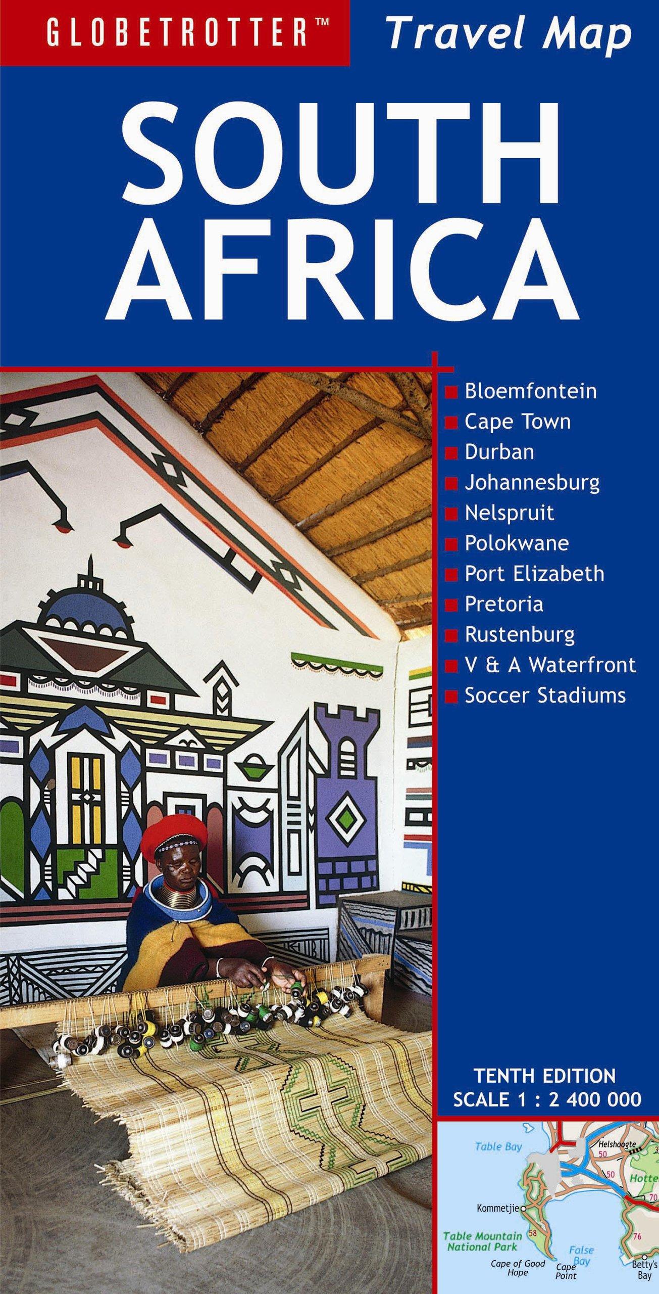 Read Online Travel Map South Africa (Globetrotter Travel Map) pdf epub