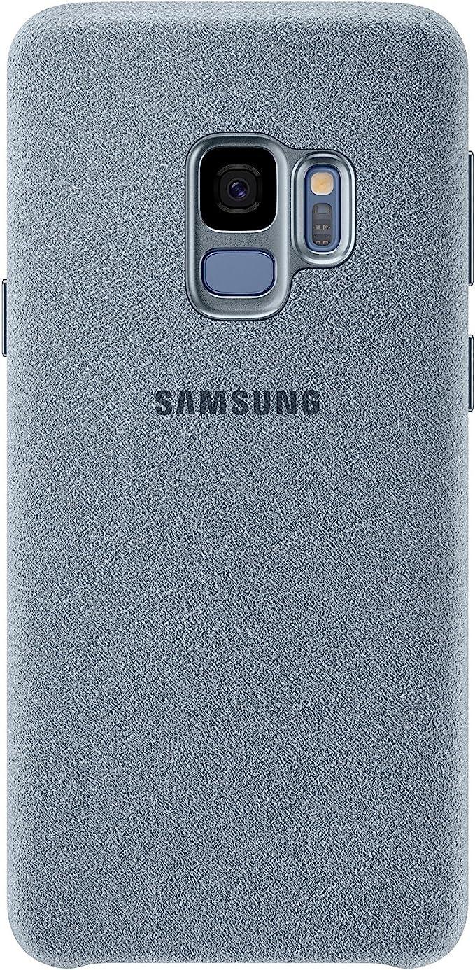 Samsung Alcantara Schutzhülle Für Galaxy S9 Mint Elektronik