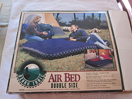 Amazon Com Ozark Trail Air Bed Double Size Home Kitchen