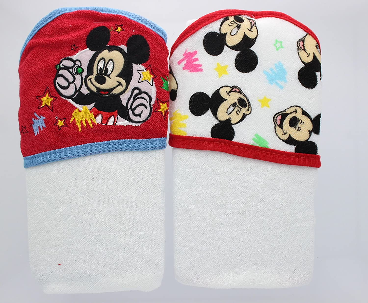 Disney 2 Piece Hooded Towel Set, Mickey Mouse GS70463