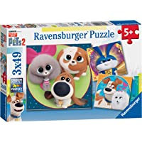 Ravensburger 5014 The Secret Life of Pets 2, 3X 49pc Jigsaw Puzzles, Multicoloured