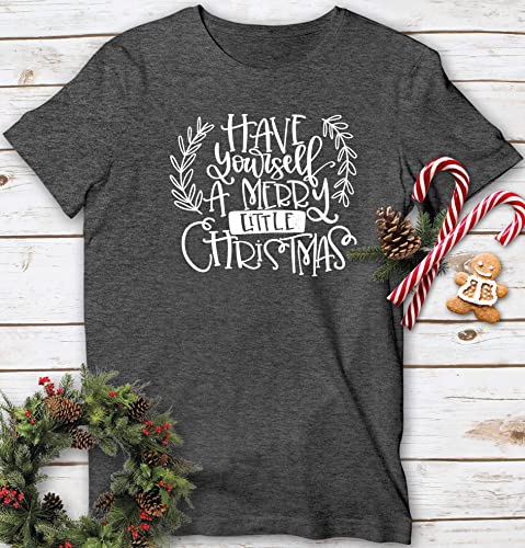 Do It Yourself Christmas Shirts.Amazon Com Have Yourself A Merry Little Christmas T Shirt