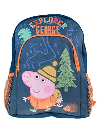 Peppa Pig Kids George Backpack  Amazon.co.uk  Luggage 696900aee8a15