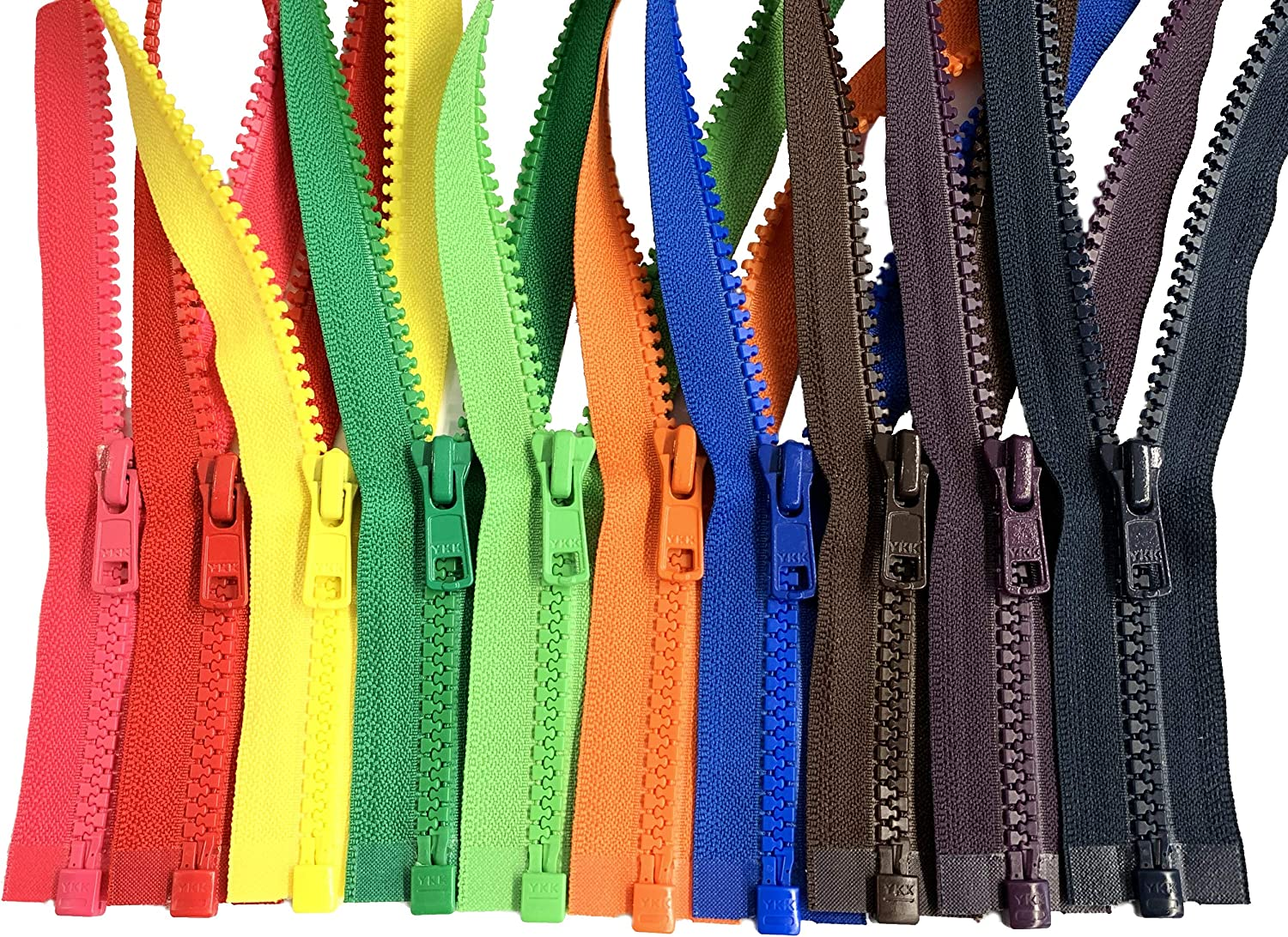 DEAL OF THE DAY YKK® #5 Molded Plastic Separating MIXED COLORS