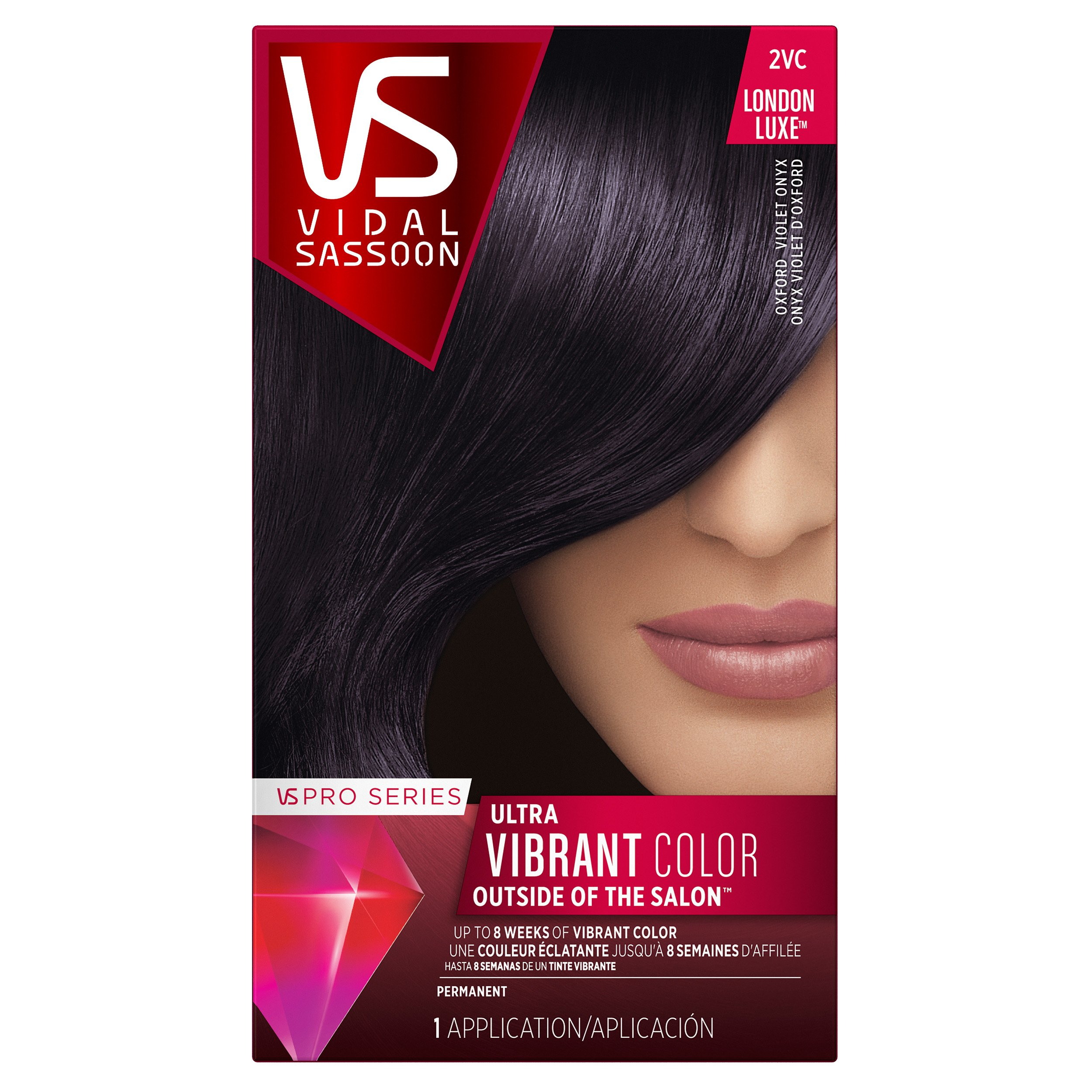 Amazon Vidal Sassoon Pro Series London Luxe Hair Color