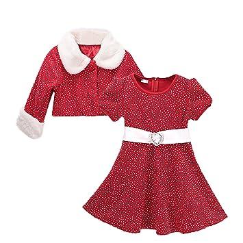 e7c1e35288759 (ビモラ) VIMORA クリスマス 女の子 子供服 赤ちゃん サンタ コスチューム 寝相 衣装 着ぐるみ ベビー服 (