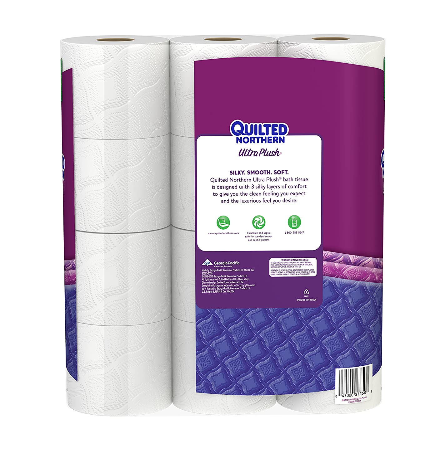 ultra to mega quilted tissue rolls product quilt click plush count bath image northern zoom
