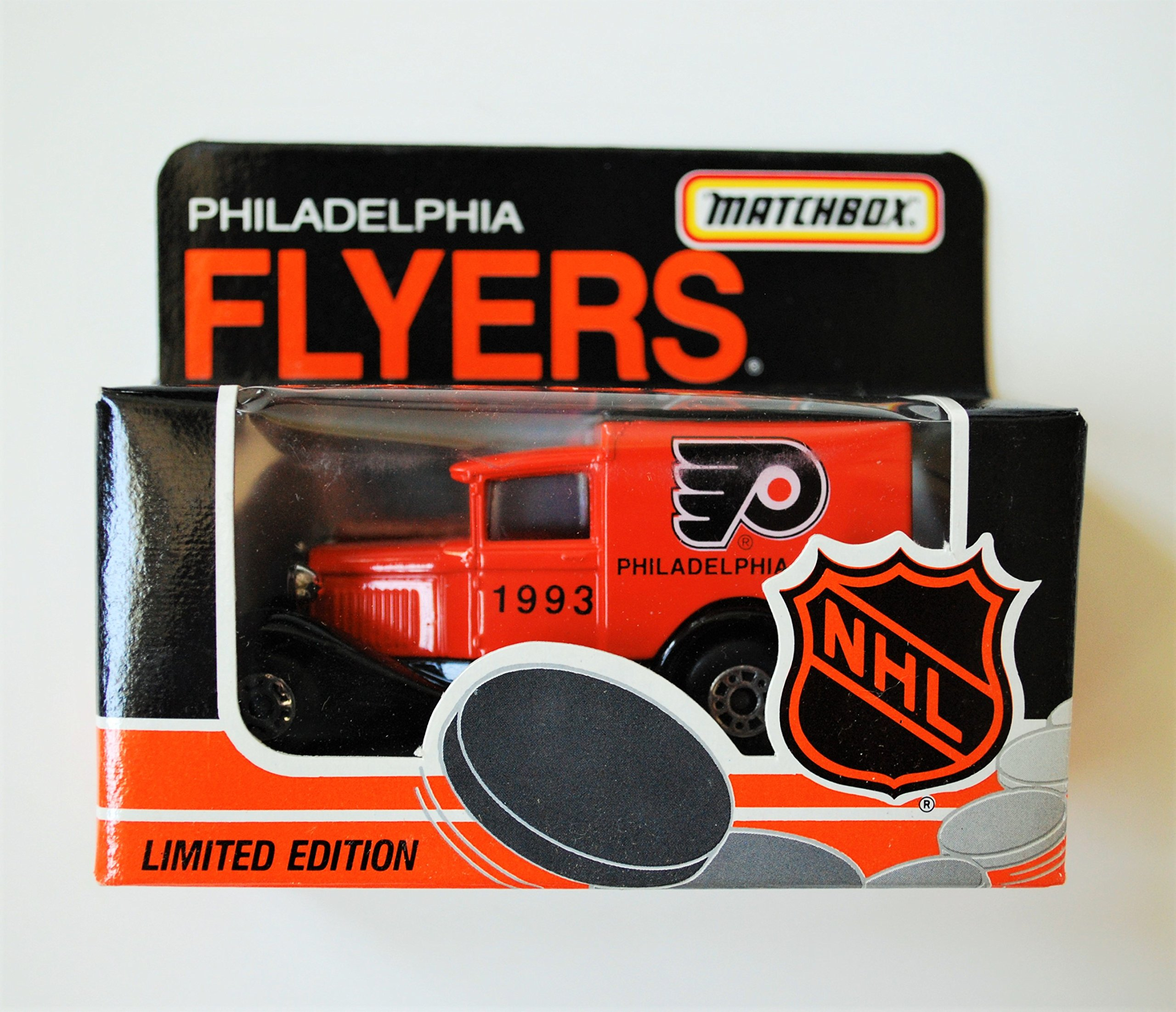 1993 Matchbox NHL Team Collectible 1:64 Scale Die Cast Model A Ford Truck PHILADELPHIA FLYERS