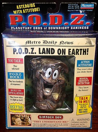 Amazon com: Playmates P O D Z  Interactive Asteroid Dimrock Don