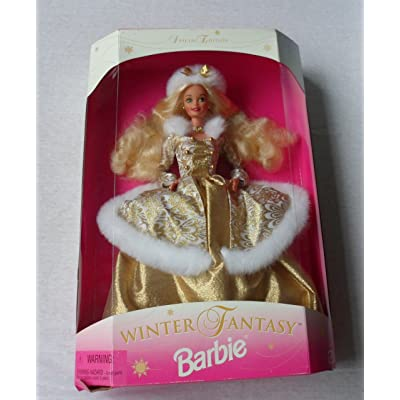Barbie 1995 Winter Fantasy Blonde - Sam's Club Exclusive: Toys & Games