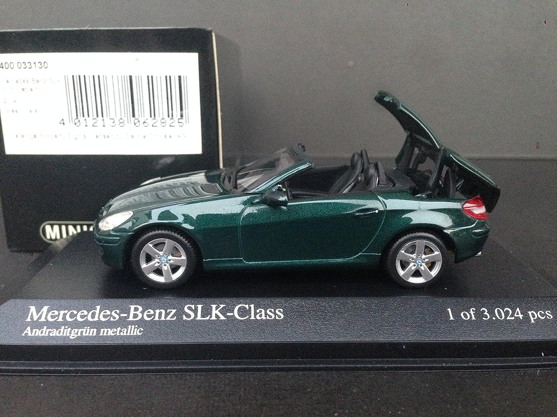 1/43 メルセデスベンツ SLK グリーンメタリック 2004 ルーフ開閉式 B002V9WKEC