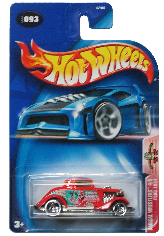 Ford 1934 Mattel 57230 Hot Wheels 2003 093 Radical Wrestlers 4//5