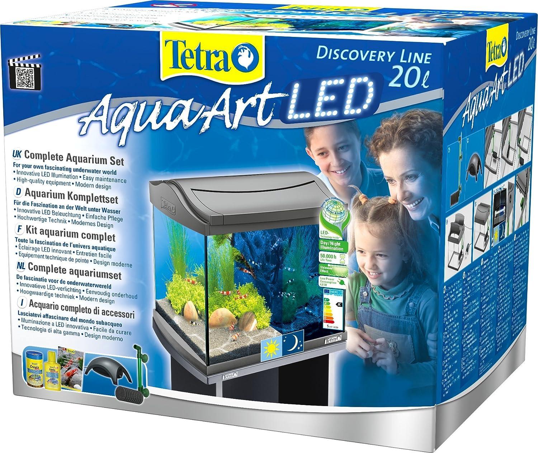 Neu Tetra AquaArt Discovery Line LED Aquarium-Komplett-Set 20 Liter  DB29