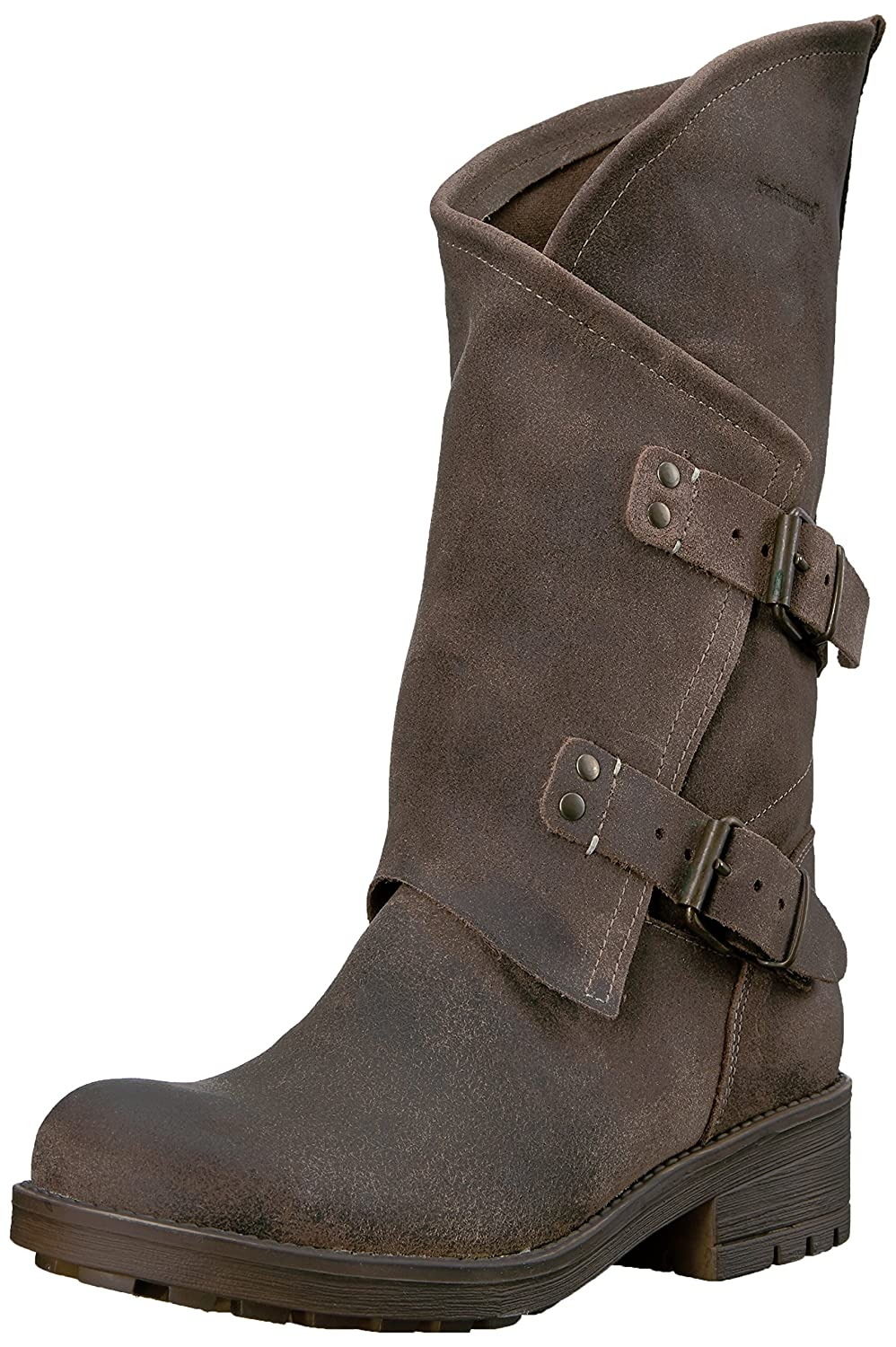 Coolway Women's Alida Motorcycle Boot B015VZ3YH4 36 M EU / 5 B(M) US|Dark Brown