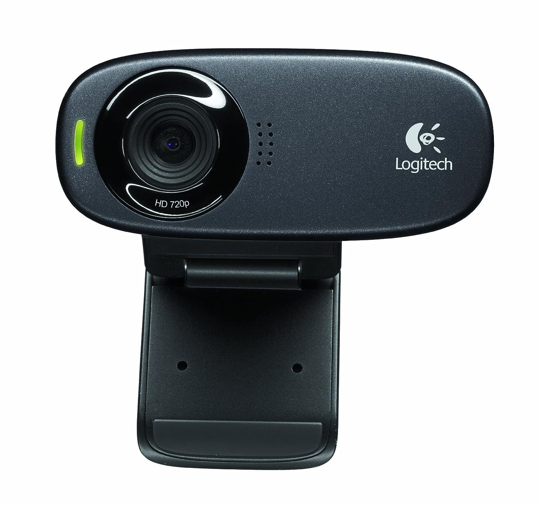 Logitech C310 HD Webcam (Black)