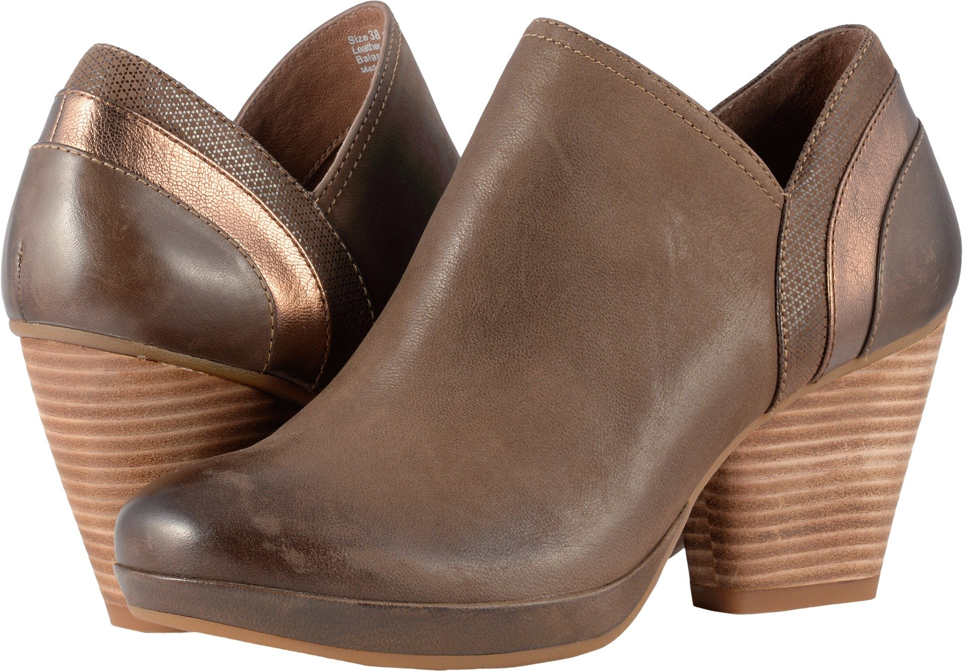 Dansko New Women's Marcia Ankle Boot Teak Burnished Nubuck 39