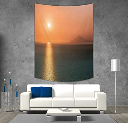 Amazon.com: iPrint Polyester Tapestry Wall Hanging,Burnt ...