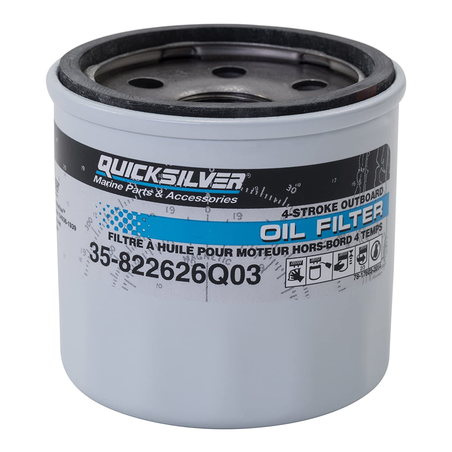 Quicksilver 822626Q03 Oil Filter - Mercury and Mariner Outboards