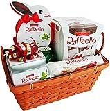 Geschenk Set Osternest mit Ferrero Raffaello (4-teilig)