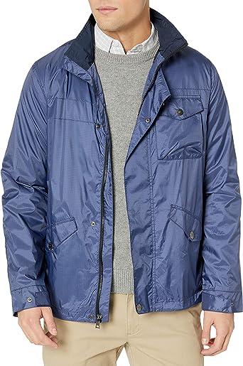 Nautica Mens Twill Bomber Jacket