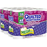 Quilted Northern Ultra Plush Bath Tissue, 18 Mega Rolls Toilet Paper, Pack of 2 (36 Mega Rolls)