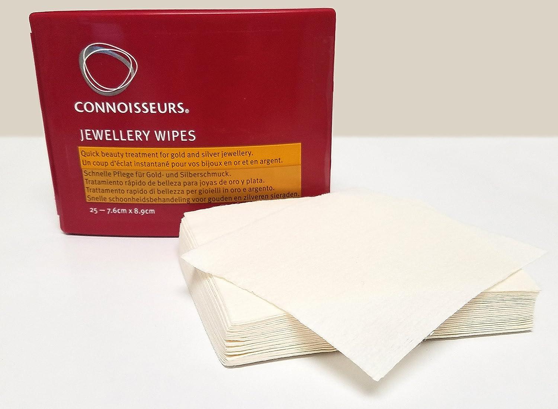 0dc3c750f0f4 Connoisseurs Jewellery - toallitas secas para Limpiar Joyas