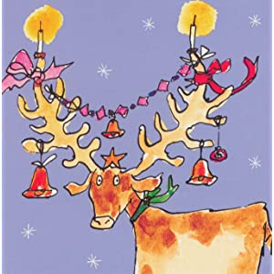 Box of 20 Christmas Cards WDM0963 Sold in Aid of Battersea Dogs /& Cats Home - Xmas Dinner 5 Designs