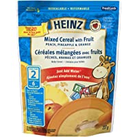 HEINZ Mixed Cereal with Fruit,  6 Pack, 227G Each