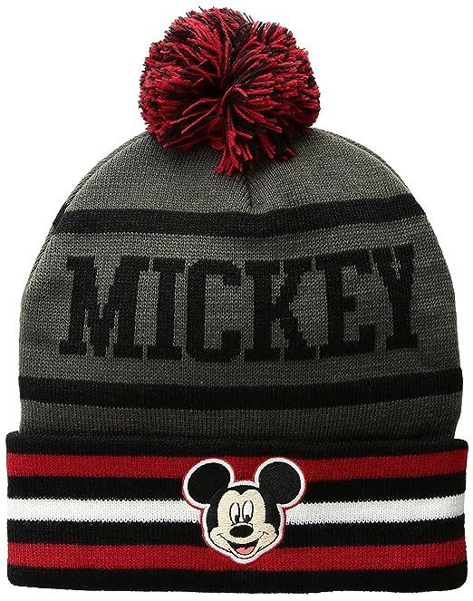 Disney Mickey Mouse - Gorro de Invierno para Hombre 47131a16ace