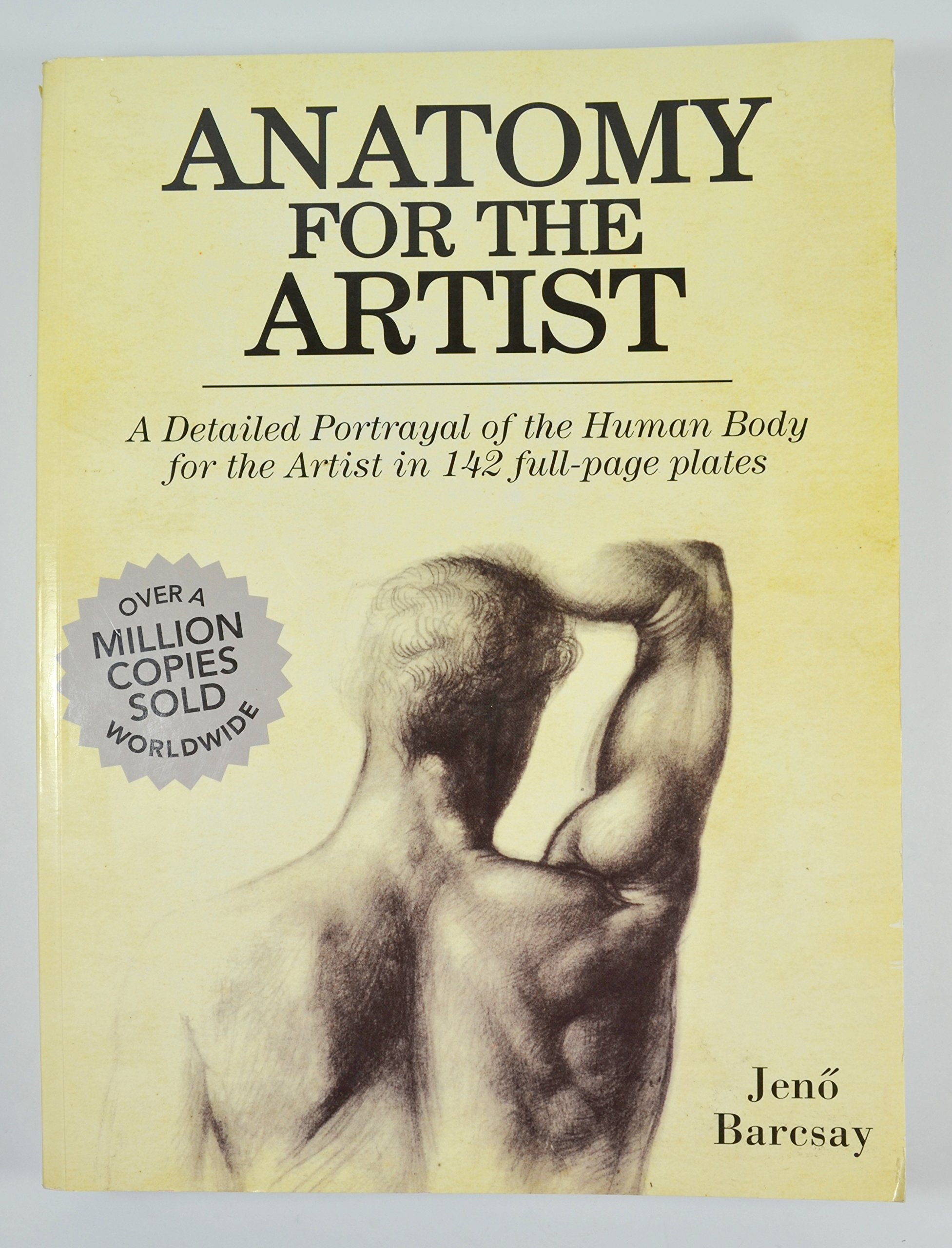Anatomy for The Artist: Jeno Barcsay: 9781435127210: Amazon.com: Books