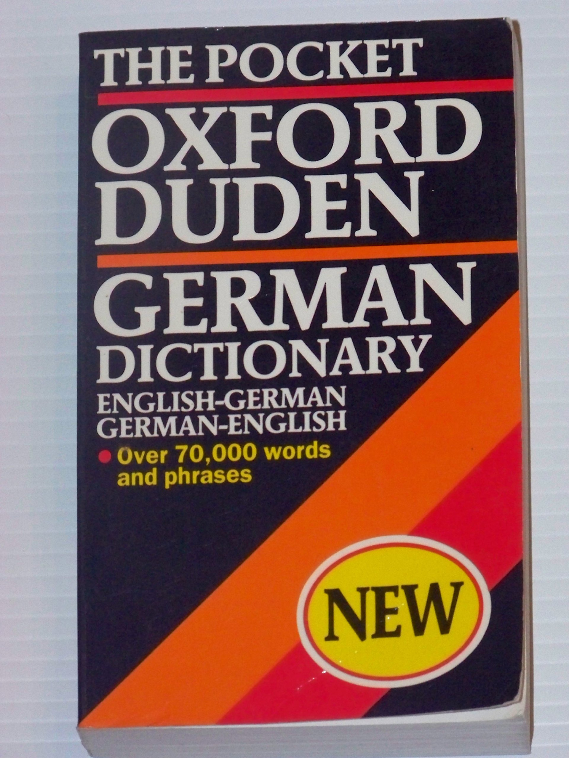 Buy The Pocket Oxford-Duden German Dictionary Book Online at Low Prices in  India | The Pocket Oxford-Duden German Dictionary Reviews & Ratings -  Amazon.in