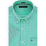 Tommy Hilfiger Men's Short Sleeve Button-Down...