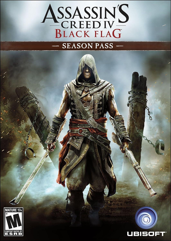 Amazon.com: Assassin's Creed IV Black Flag: Season Pass - PS3/ PS4 [Digital  Code]: Video Games