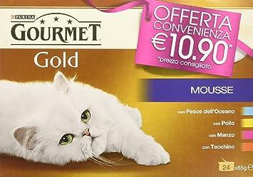 Gourmet Gold Mousse Manzo/Pollo/Pescado/Tacc [1 Unidades de ...