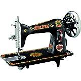 NAVEEN SEWING MACHINE Cast Iron Tailor Model Sewing Machine Head, 44x33x22cm(Black)