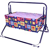 Mothertouch Wonder Cradle (Navy Blue), Assorted print