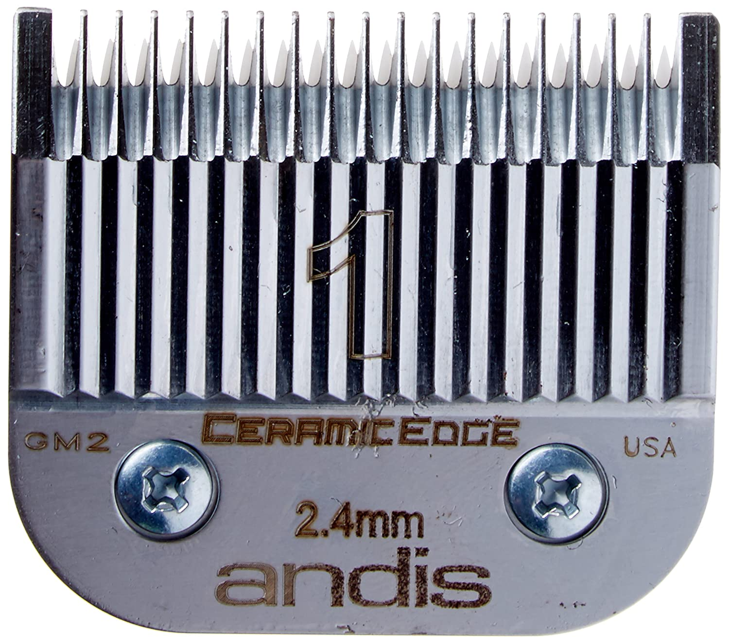 Andis pro ceramic edge one set blade, 1 Count, Silver AN-64465