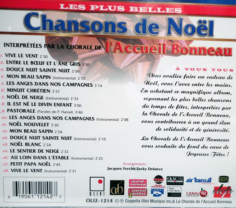 Amazon.com: Plus Belles Chansons de Noel: Music