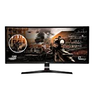LG 34UC79G-B 34-Inch 21:9 Curved UltraWide IPS Gaming Monitor with 144Hz Refresh Rate