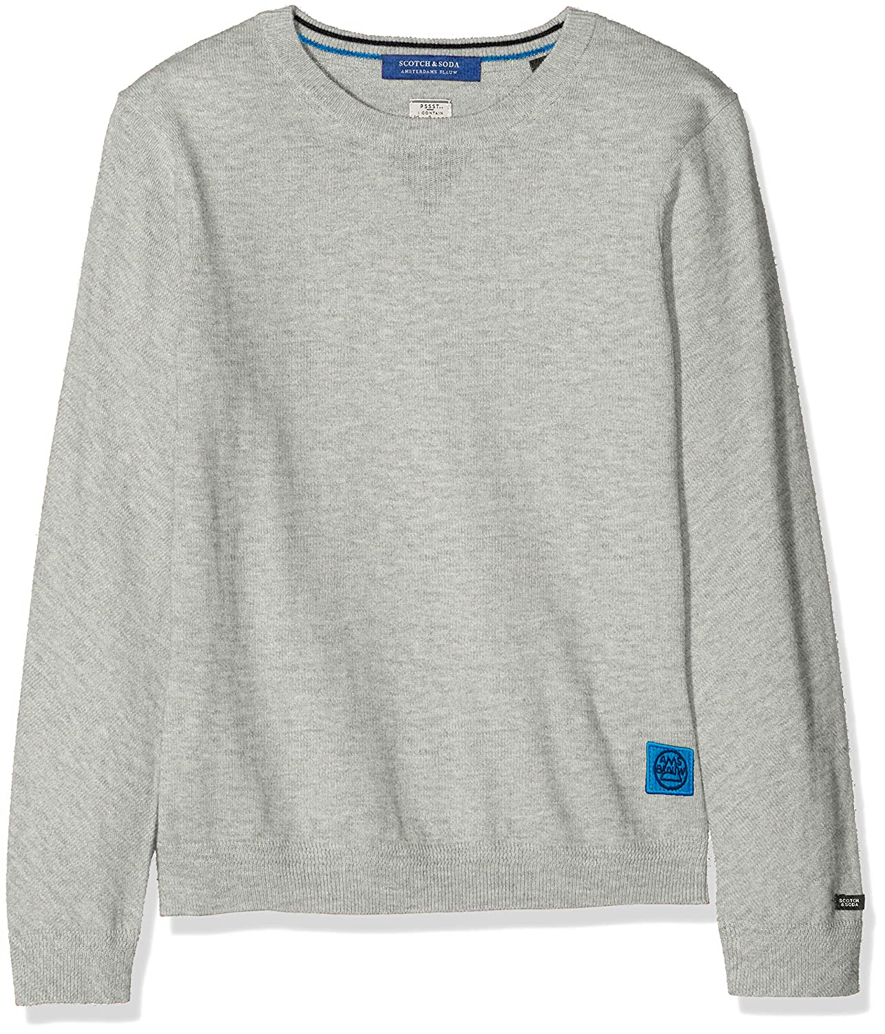 Scotch & Soda Jungen Pullunder Crew Neck Pull in Cotton Cashmer Scotch & Soda Shrunk 147973