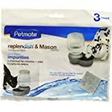 Petmate Replendish Charcoal Replacement Filters (2 Packages)