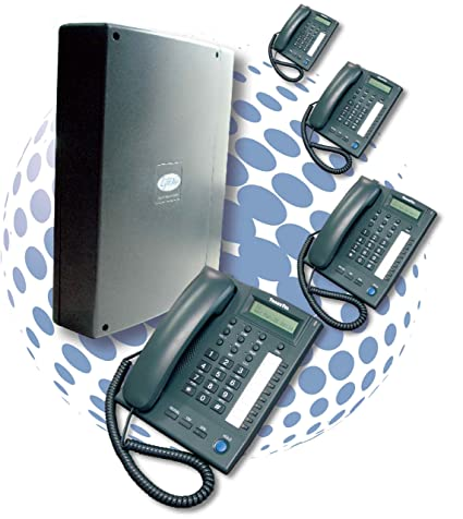 TransTel Lynx Digital Telephone System with Voice Mail Auto Attendant and 4  System Phones