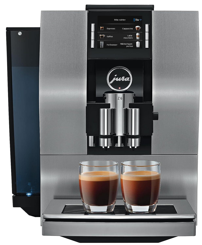JURA Z6 Independiente Totalmente automática Máquina espresso 2.4L 20tazas Aluminio, Negro - Cafetera (Independiente, Máquina espresso, Aluminio, Negro, ...