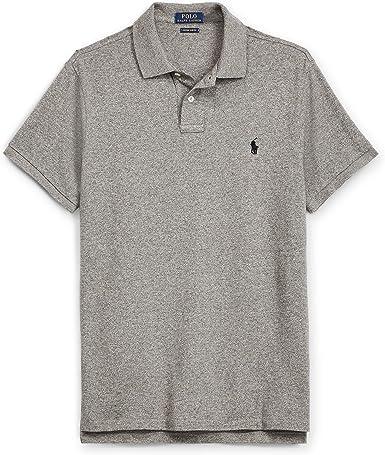 Polo Ralph Lauren - Polo - Polo - para Hombre Gris M: Amazon.es ...