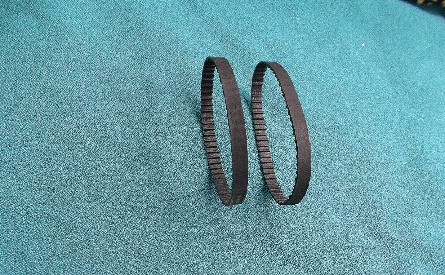 2 NEW DRIVE BELTS FOR SEARS ROEBUCK UTILITY SHARPENER 21170 Drill ...