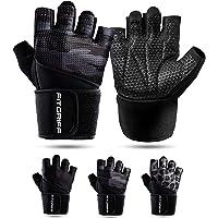 Fitgriff® Fitness Handschoenen V2 - Anti Slip Dumbbell Gloves - Heren en Dames - voor Sport, Gym, Gewichten, Bescherming…
